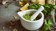 Green healthy sauces