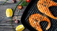 How to Cook Frozen Fish on a George Foreman Grill