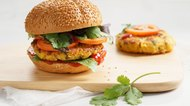 How to Make a Low-Carb Veggie Burger