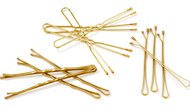 golden hairpins