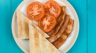 Bacon and Tomato With Toast