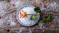 Easy To Make: DIY Flower Bath Salts