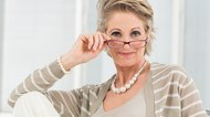 Attractive Eyeglasses for Graying Hair