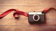 camera and ribbon
