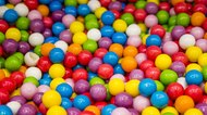 Selection of colorful jawbreakers