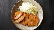 Japanese pork cutlet 'Tonkatsu'