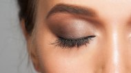 Eyebrow and eye makeup