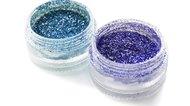 Blue and violet sparks