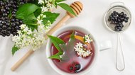 How to Make Elderberry Tea