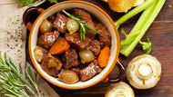 Stew with vegetables hotpot