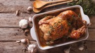French Food: Chicken with 40 cloves of garlic