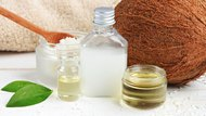 Coconut oil products cosmetic use.
