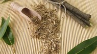 Loose tea from willow bark