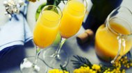 How to Make Prosecco Mimosas