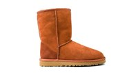Orange ugg boot