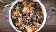 Kale & Sausage California Stuffing