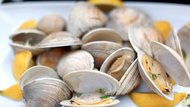 Grilled Clams with Herbed Butter