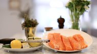 Sous-Vide Salmon with Flowering Thyme