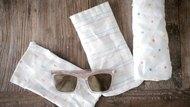 DIY Linen Sunglasses Case