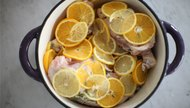 One Pan Dinner: Chicken with Herbs & Citrus