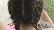 How to Do a Double French Braid