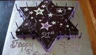 How to Make a Star-Shaped Cake