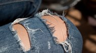How to Repair Stretch Jeans