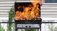 Can a Grill Be Used Once a Fire Extinguisher Has Been Sprayed on It?