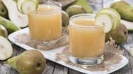 Glass filled with Pear Juice