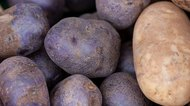 purple & white potatoes