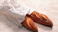 Baguettes in bag