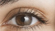 Young woman, close-up of eye