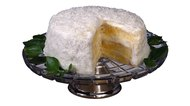 Freezing and Storing Coconut Cake