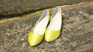 Yellow Women Shoe