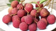 fresh litchi fruit