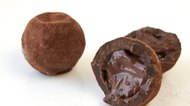 luxury organic chocolate truffles with smooth ganache centre