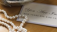 pearls invitation jewelry