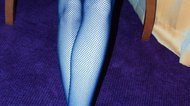 How to Cut Fishnet Stockings