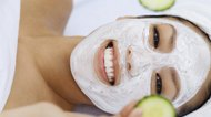 How to Make a Cucumber Facial Mask