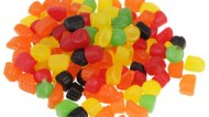 Pile of  gummi candy