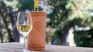 How to Use a Terra Cotta Wine Chiller