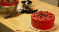 How to Make a Spider-Man Web for a Cake