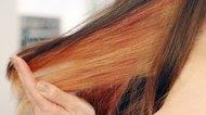 How to Dye Peek-a-Boo Hair