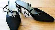 How to Keep High Heels From Slipping on Floors