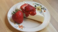 How to Make a Strawberry Cheesecake Topping