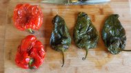 How to Roast Peppers in the Oven