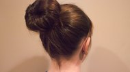How to Make a Bun With Short Hair