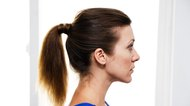 How to Make a Ponytail & Wrap Hair Around it