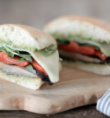 The Pesto Portobello Burger
