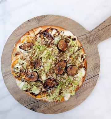 Fig & Butternut Squash Pizza
